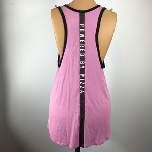 VS 💓PINK🍕POWERED BY PIZZA🍕 Muscle Tank Top  NWT